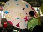 Painting a parasol
